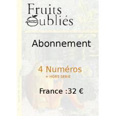 Abonnement 4 n° + Hors-série France