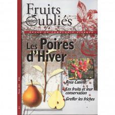 Numéro 54 Les poires d'hiver - Églantier - Forêt fruitière