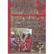 Numéro 63  Vingt ans de lutte pour la biodiversité