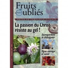 Numéro 65  Passiflores résistantes au froid – Châtaigniers  -Vigne sauvage